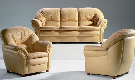 Мягкая кожаная мебель  от производителя по низким м